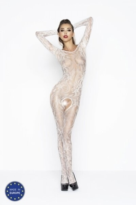 PASSION Bodystocking BS042 white