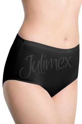 JULIMEX Cotton midi black