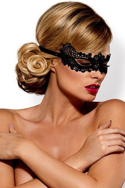 OBSESSIVE Maska na oči A701 barva černá, velikost Univerzální