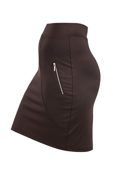 LITEX Sukně dámská do pasu 60083 barva černá, velikost S