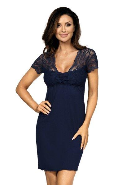 Donna KASIYA dámská noční košilka tmavě modrá barva modrá, velikost M