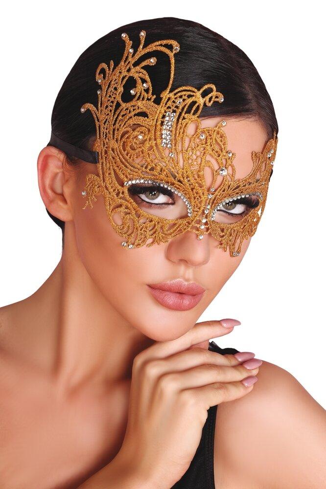 LivCo CORSETTI FASHION Maska na oči Mask golden barva zlatá, velikost Univerzální