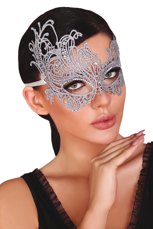 LivCo CORSETTI FASHION Maska na oči Mask silver barva stříbná, velikost Univerzální