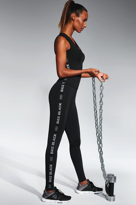 BAS BLEU Sportovní legíny Emotion barva černá, velikost 4