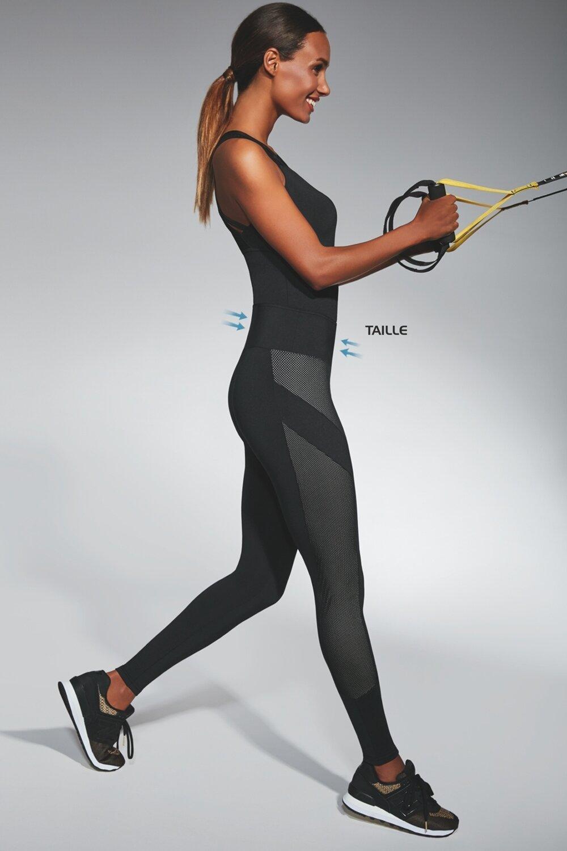 BAS BLEU Sportovní legíny Misty barva černá, velikost 3